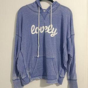 """""""Lovely"""" women's sweatshirt"""